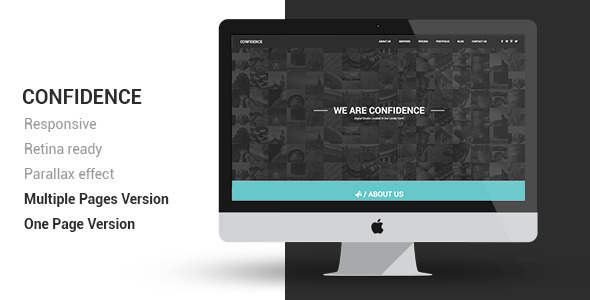 Confidence Multipurpose Retina Ready Template